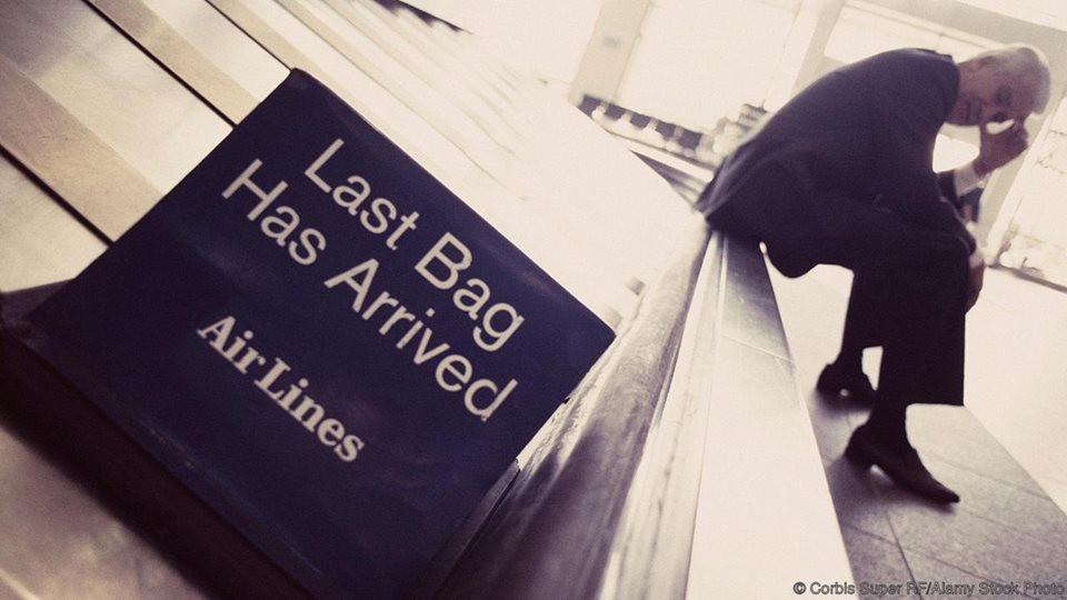 companhia aérea perdeu minha mala
