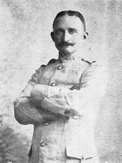 Tenente Andrew S. Rowan entregou mensagem a Calixto Garcia
