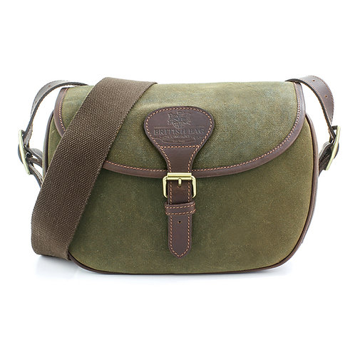Waxed Canvas Cartridge Bag Front View