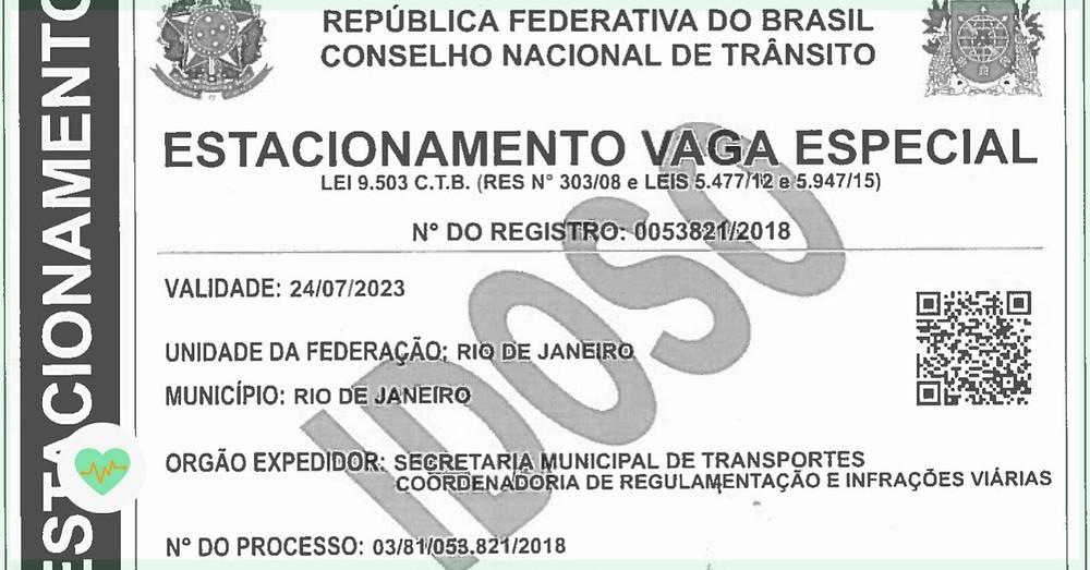 Carioca digital cartão do idoso