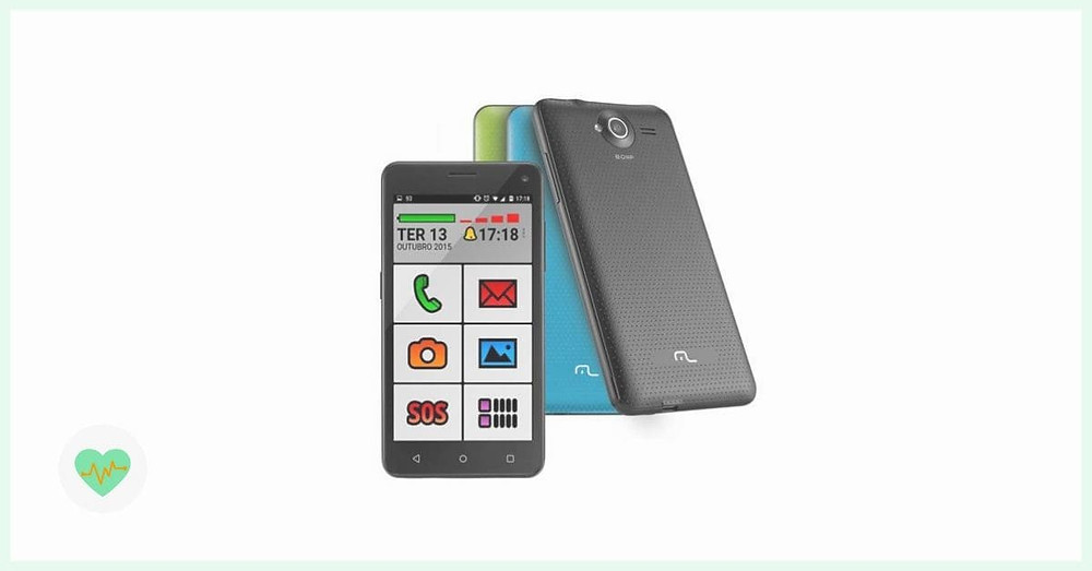 imagem do celular Multilaser MS50 Senior