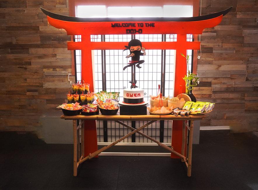 Ninja Theme Party