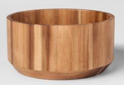 Acacia Serving Bowl Modern