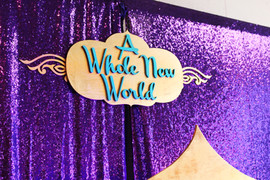 A Whole New World Birthday
