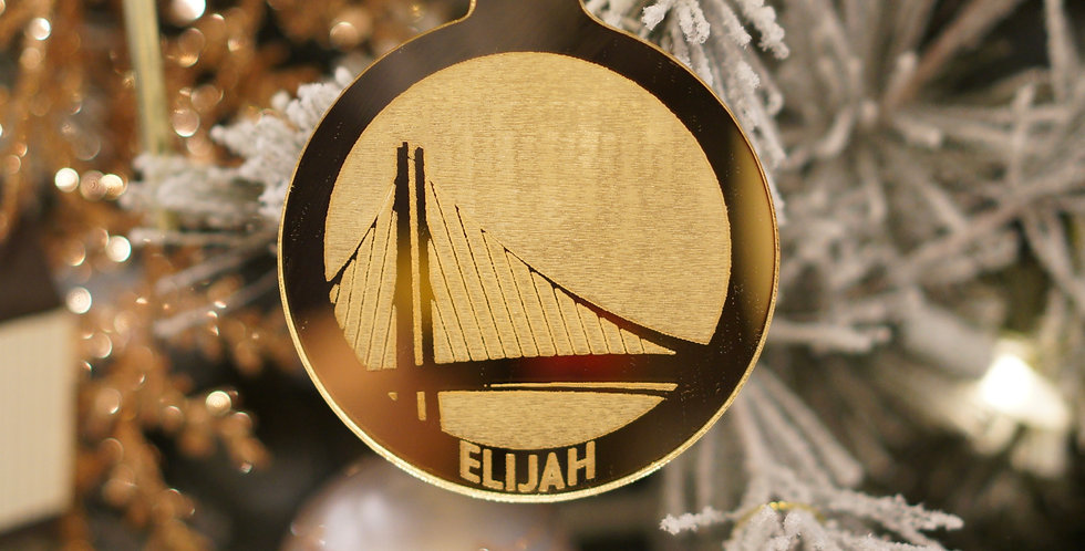 PERSONALIZED SPORTS TEAM ORNAMENT