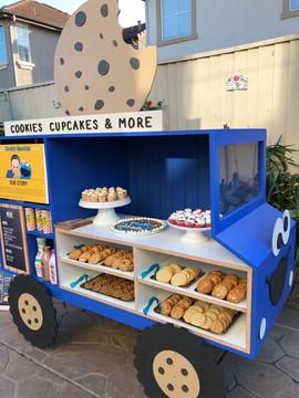 Cookie Monster Jam Truck