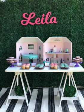 Vampirina Dollhouse Dessert Table