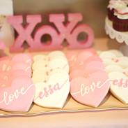 Valentine Themed Birthday