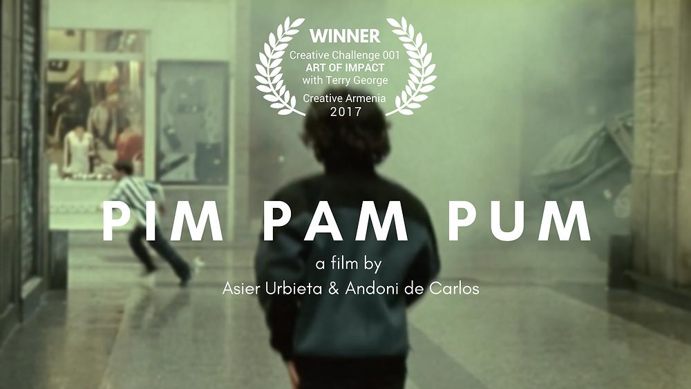 Ասիեր Ուրբիետայի եւ Անդոնի դե Կառլոսի «Pim Pam Pum» ֆիլմը`  Ստեղծարար մարտահրավեր 001-ի հաղթող