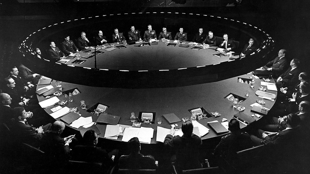 «Դոկտոր Սթրեյնջլավ»-ի պատերազմի սենյակը