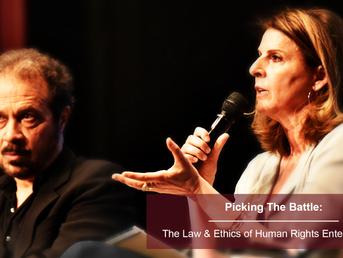 Ընտրելով մարտը. մարդու իրավունքների վերաբերյալ ժամանցի օրենքն ու էթիկան