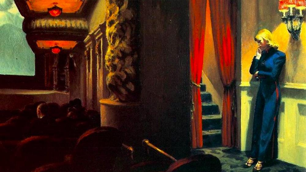 Edward Hopper, New York Movie (1939)
