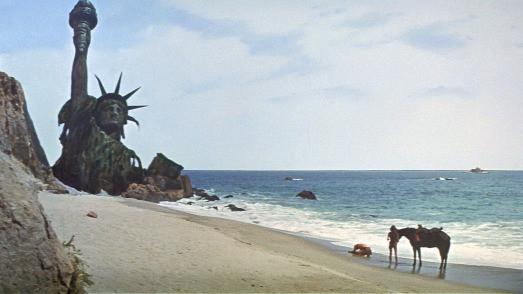 Ազատության արձանը՝ «Կապիկների մոլորակը» ֆիլմում (1968)