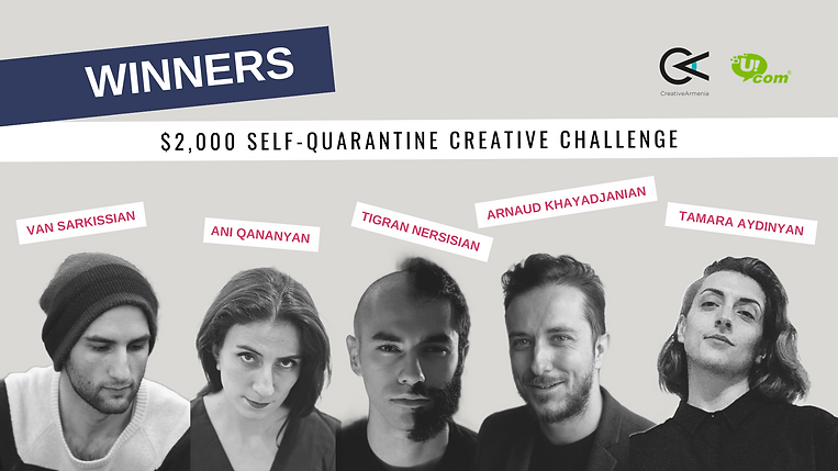 $2,000 self-quarantine creative challeng