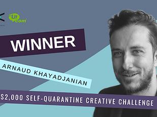 $2,000 self-quarantine creative challeng