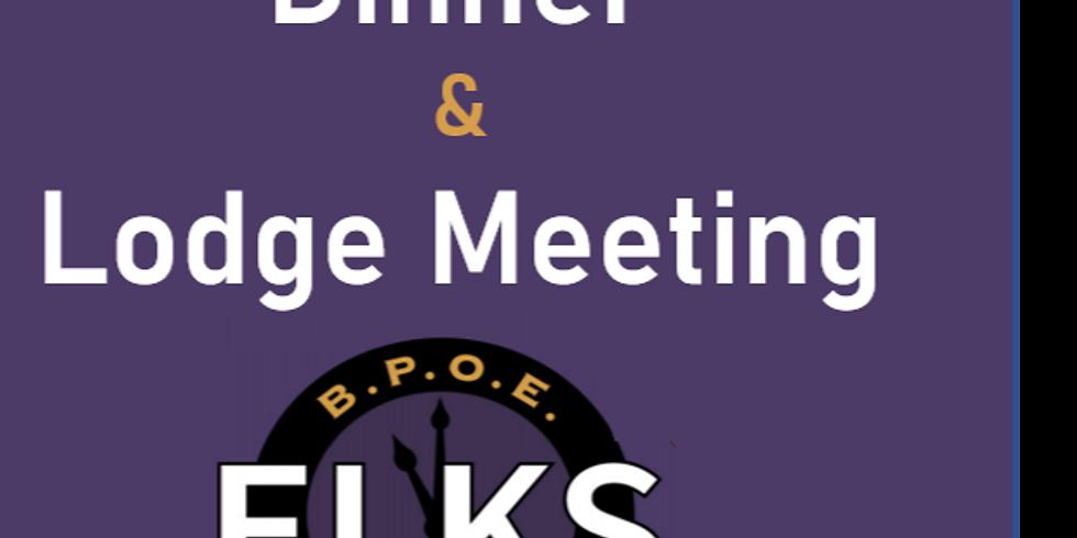 Lodge Meeting& Dinner