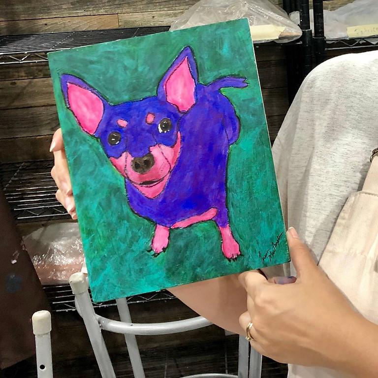 Modern Pet Painting Workshop