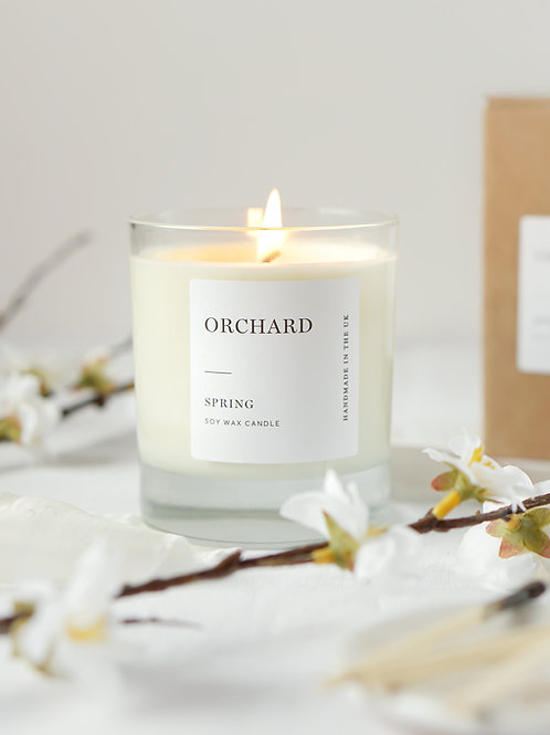 'SPRING' Luxury, Cherry Blossom candle 300g