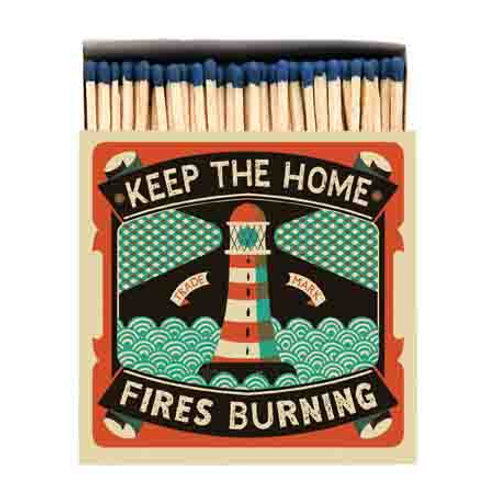Homefires Luxury Letterpress printed matches