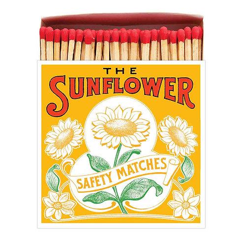 'Sunflower ' Luxury Letterpress printed matches