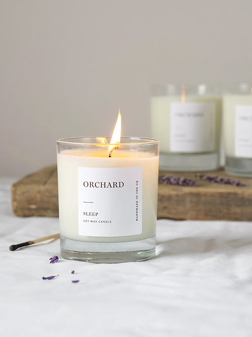 'SLEEP' Limited Edition Signature Lavender & Chamomile candle 300g