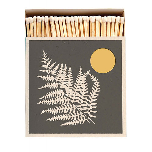 Fern Luxury Letterpress printed matches