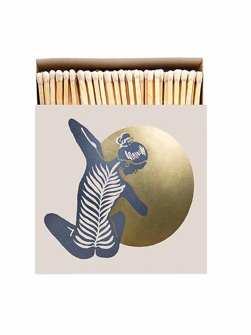 Yoga Luxury Letterpress printed matches