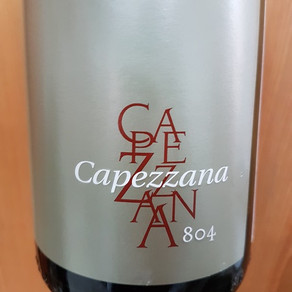 Capezzana: a origem da tradição