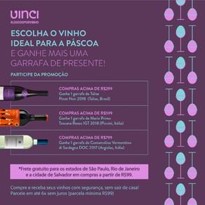 Promoção Páscoa Vinci