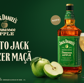 Brown-Forman lança Jack Daniel's Tennessee Apple no Brasil