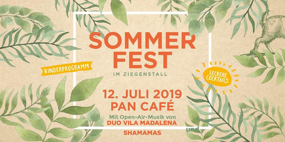 Sommerfest im Ziegenstall