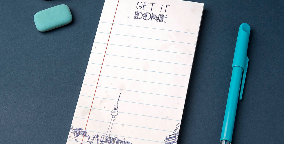Notepad - Berlin - To Do List - Magnet