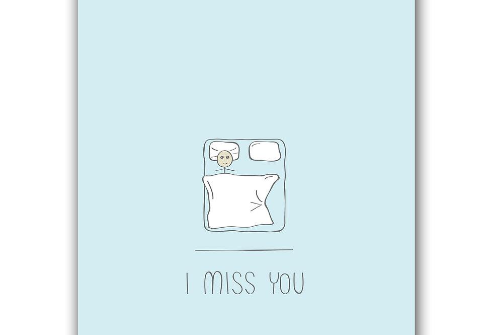 I miss U - alone in bed
