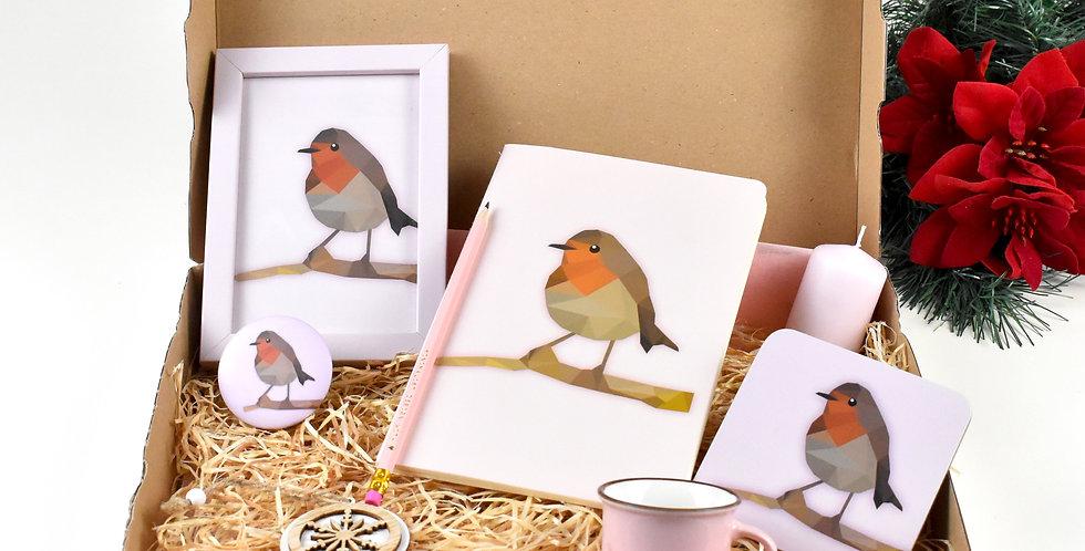 The Robin Christmas kit.