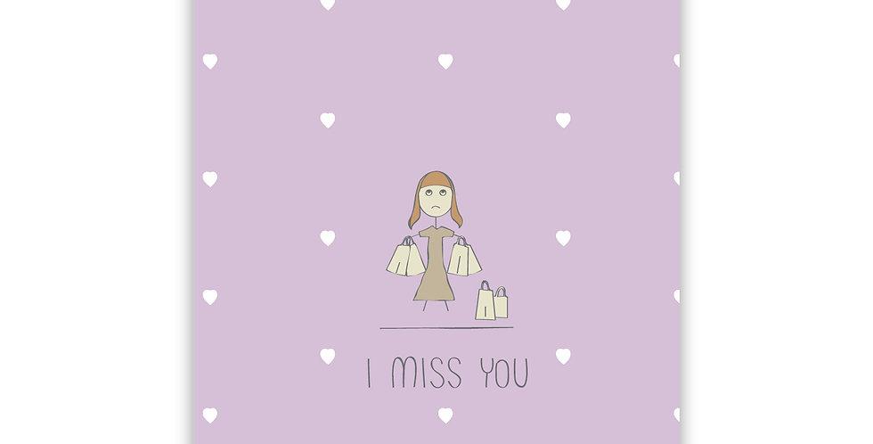 I miss U - Shopping