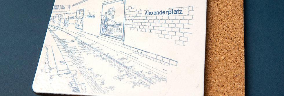 Berlin Alexanderplatz - Coaster for your Drink