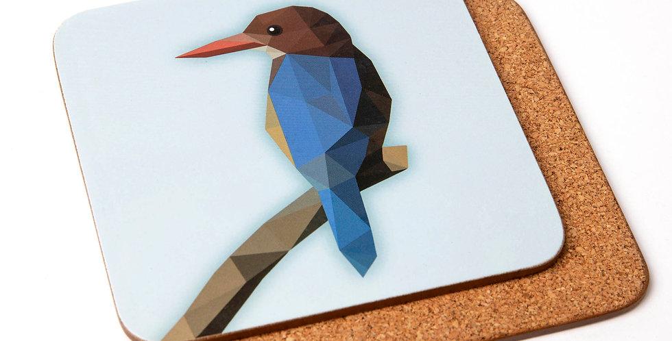 White-breasted Kingfisher Coaster