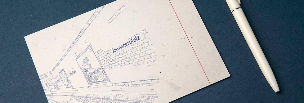 Berlin Alexanderplatz - Postcard