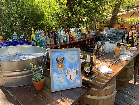 alcohol, bar menu, bar rental setup, bartending service, los angeles