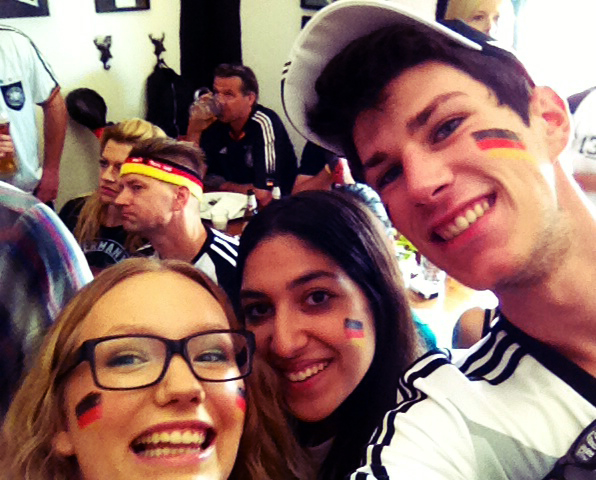 Worldcup soccer game - Germany