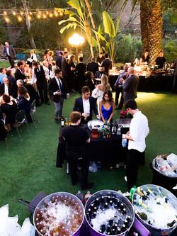 Houdini Estate Main Lawn Bar Setup