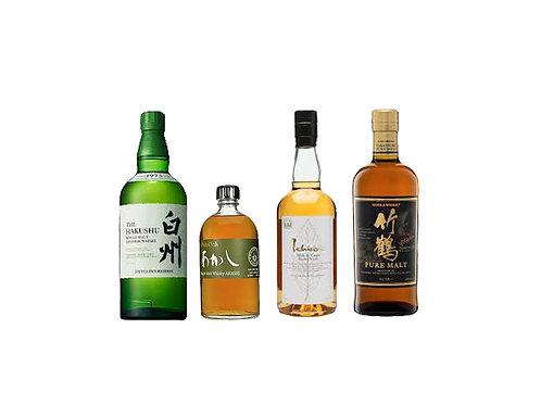Japanese Whiskies Tasting Pack