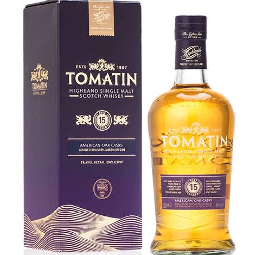 Tomatin 15 YO Single Malt Scotch Whisky  - PRE ORDER