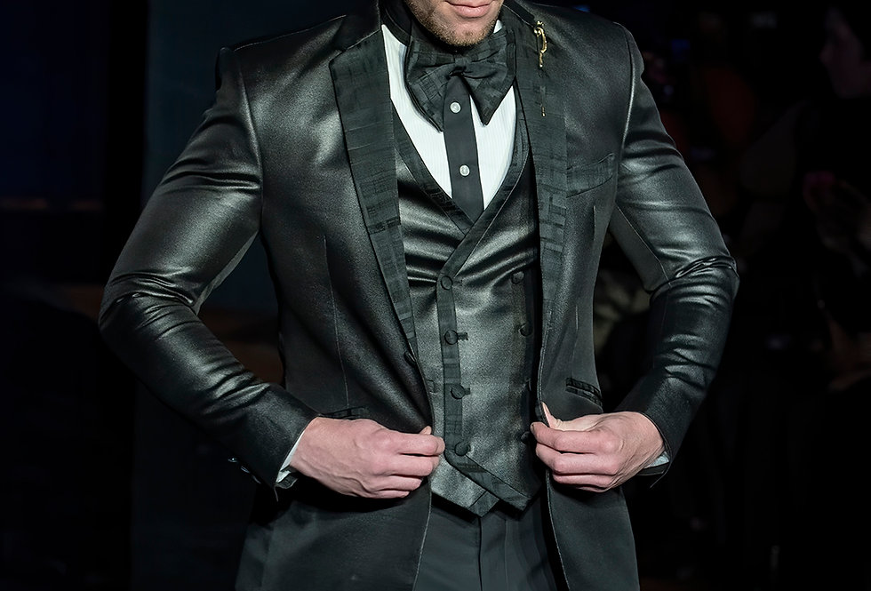 Jacket, Vest & Bow Tie