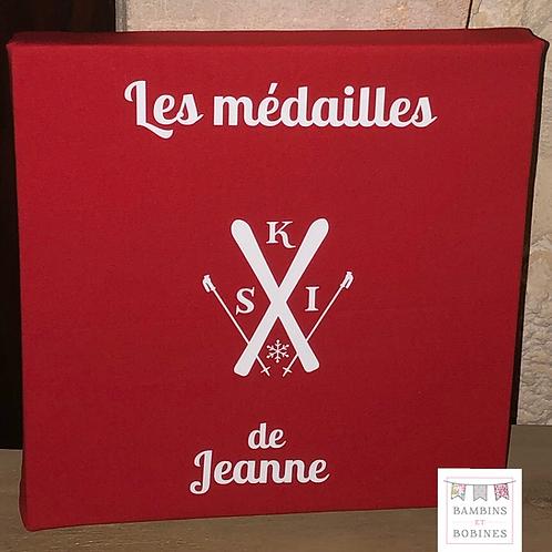 Tableau à médailles de ski