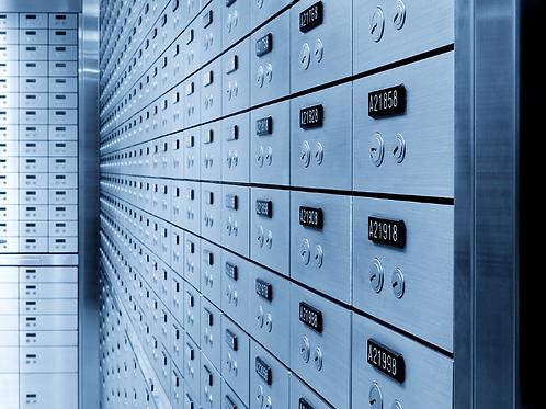 UL certified Lock set Safe deposit box