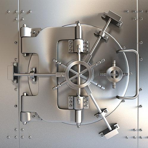 Round Vault Room Door Anti-thefe Drill Pretention VaultDoor