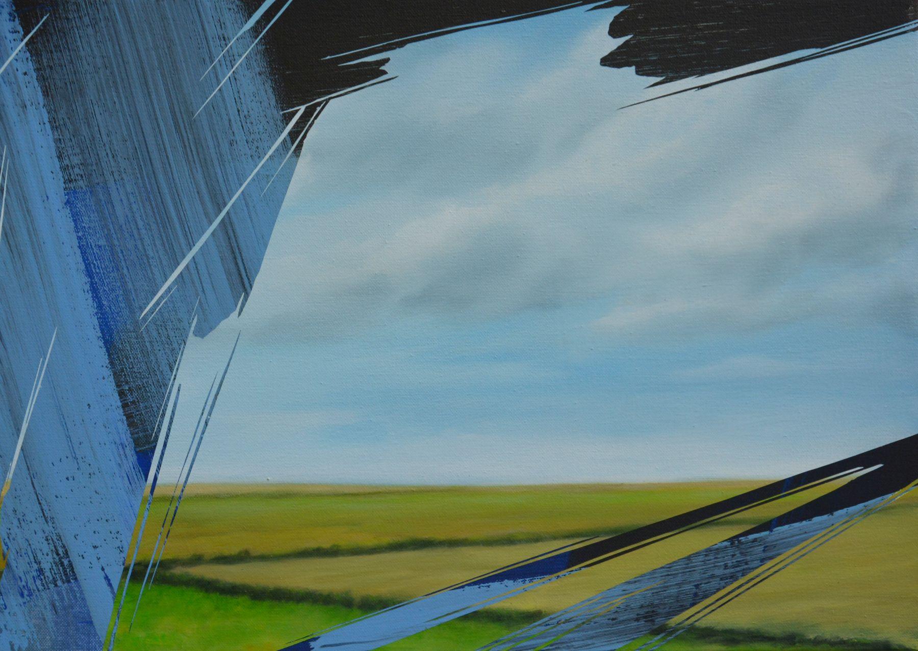 Erased Landscape