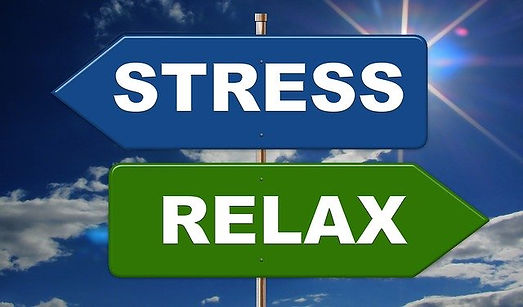 stress and relax directional arrows