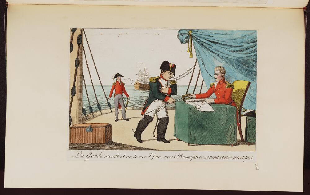 French political cartoon; References: De Vinck, No. 9734.;
